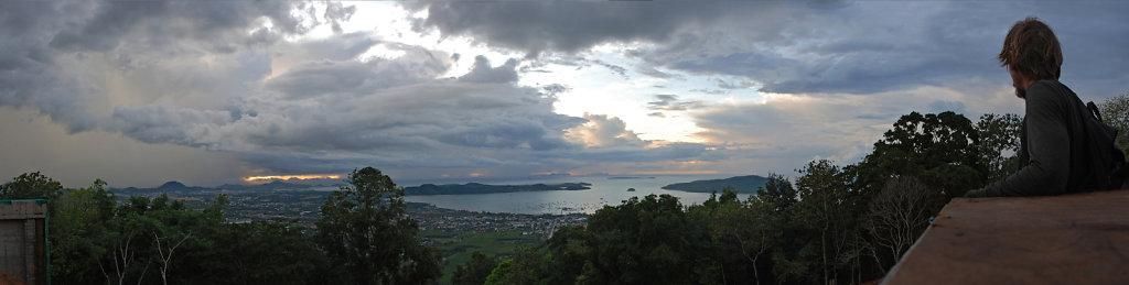 """""""sunrise"""" over Phuket 6 a.m."""