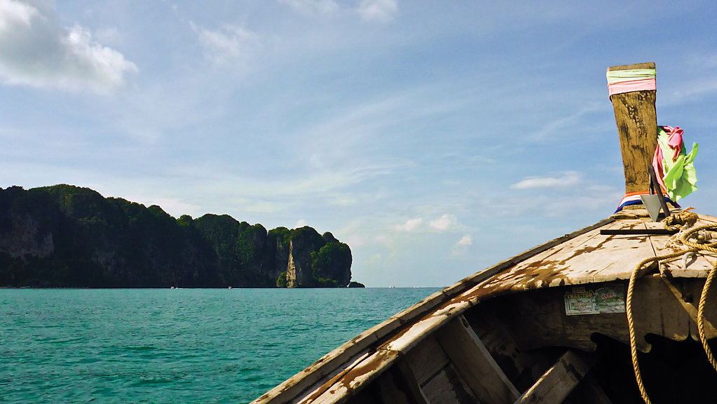 way to railay - only by boat